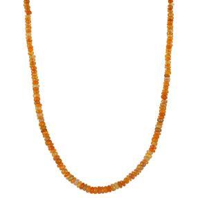 Collier Äthiopischer Opal orange