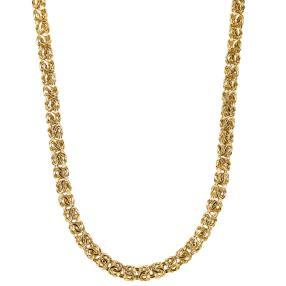 Königskette 585 Gelbgold, ca. 50cm