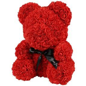 Rosen-Bär rot 40cm