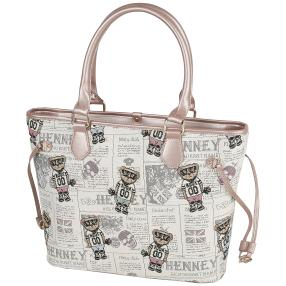Henney Bear Shopper NEWSPAPER BEAR