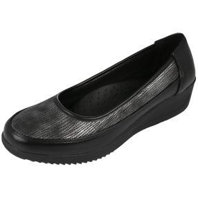 TOPWAY Comfort Damen-Slipper Metallic