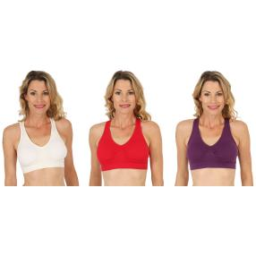 COSY COMFORT 3er Pack BH 'Fashion' multicolor
