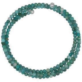 Armband Amazonit, Perle