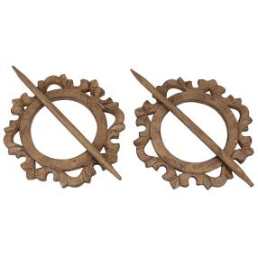 Gardinenhalter Ornament 2er-Set