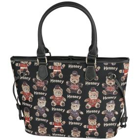 Henney Bear – Shopper BLACK