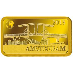 Goldbarren Amsterdam 2015