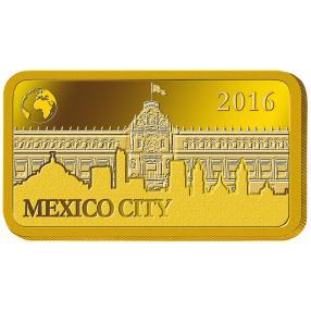 Goldbarren Mexiko City 2016