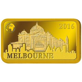 Goldbarren Melbourne 2016