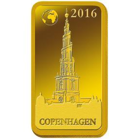 Goldbarren Kopenhagen 2016