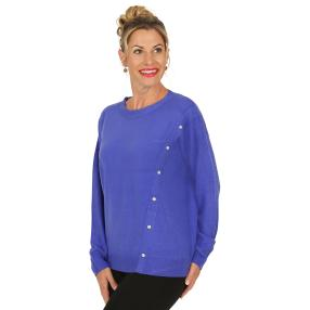 Cashmerelike by BLUE SEVEN Pullover, royalblau
