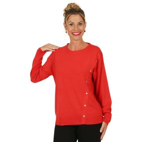 Cashmerelike by BLUE SEVEN Pullover, erdbeere