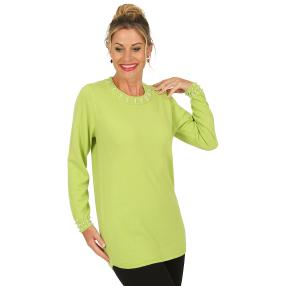 Cashmerelike by BLUE SEVEN  Damen-Pullover, apfel