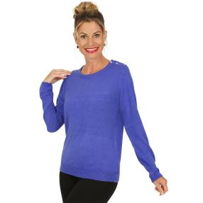 Cashmerelike by BLUE SEVEN Pullover royalblau