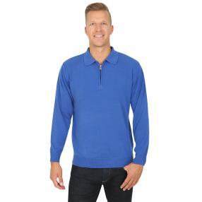 Cashmerelike by BLUE SEVEN , Herren-Pullover, blau