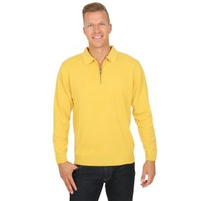 Cashmerelike by BLUE SEVEN, Herren-Pullover, curry