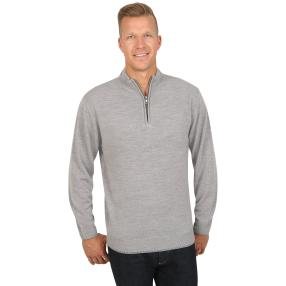 Cashmerelike by BLUE SEVEN Herren-Pullover, grau