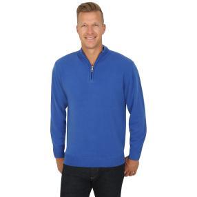 Cashmerelike by BLUE SEVEN  Herren-Pullover, blau