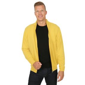 Cashmerelike by BLUE SEVEN  Herren-Cardigan, curry