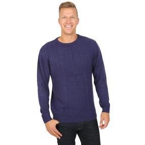 Cashmerelike by BLUE SEVEN Herren-Pullover, marine