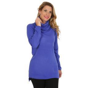 Cashmerelike by BLUE SEVEN Damen-Pullover, blau