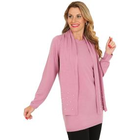 Cashmerelike by BLUE SEVEN  Pullover, Perle, mauve