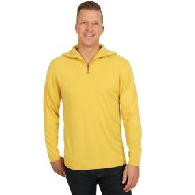 Cashmerelike by BLUE SEVEN Herren-Pullover, curry