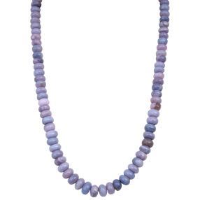 Collier Opal Lavendel, ca. 180-200 ct.