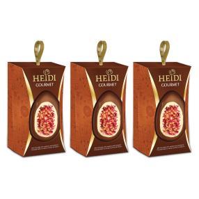 HEIDI Gourmet Eier (3er Pack), Vollmilch