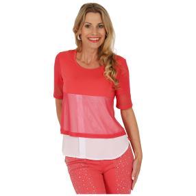 mocca by Jutta Leibfried Shirt pink/weiß