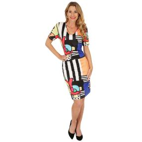 FASHION NEWS Damen-Kleid 'Saleccia' multicolor
