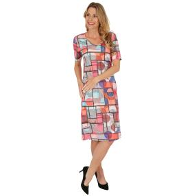 FASHION NEWS Damen-Kleid 'Antibes' multicolor
