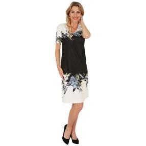 FASHION NEWS  Damen-Kleid 'Sillion' schwarz/weiß