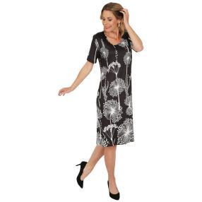 FASHION NEWS Damen-Kleid 'Menton' schwarz/weiß