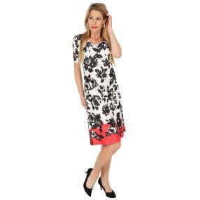FASHION NEWS  Damen-Kleid 'Artaz' weiß/schwarz/rot