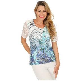 FASHION NEWS  Damen-Shirt, Spitze, multicolor