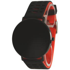 Atlanta Smartwatch 9706/7 schwarz-rot, Ersatzband
