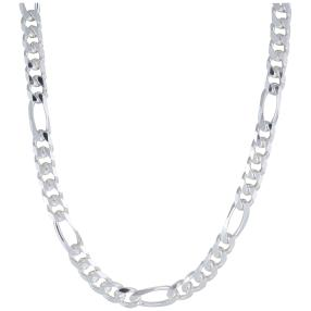 Firgarokette 925 Sterling Silber, ca. 60 cm