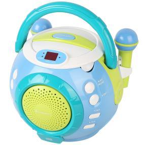 Kinder-CD Spieler m. Mikrofon
