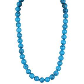 Collier Türkis blau, ca. 50+5 cm