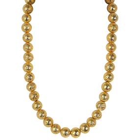 Collier Lava gold, ca. 12mm