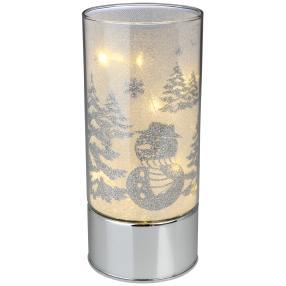 LED-Glasleuchte Weihnachten