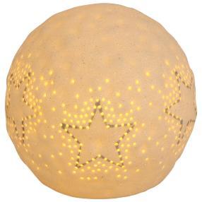 Ceramico LED-Kugel mit Sternen