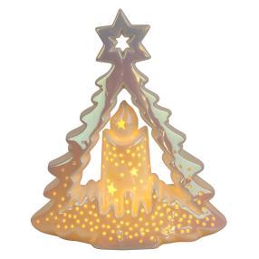 Ceramico LED-Baum mit Kerze