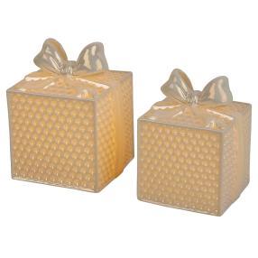 Ceramico LED-Geschenkbox 2er-Set weiß