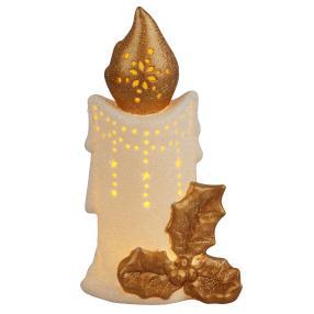 Ceramico LED-Kerze gold