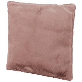Fellimitat-Kissen Hase, rosé