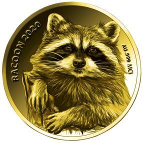 Goldklassiker Waschbär 2020