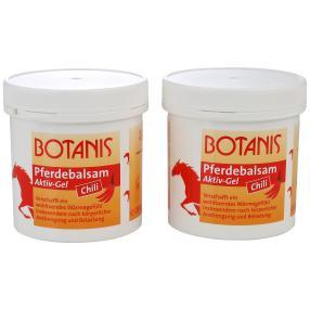 BOTANIS Pferdebalsam Aktiv-Gel Chili 2 x 250 ml