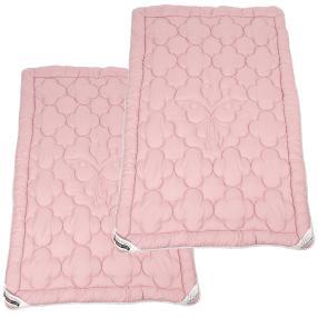Stoffhanse Steppdecke 2er-Set rosa 135x200cm