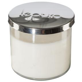 LEPURO 2-Docht Duftkerze, vanille